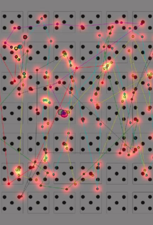 graphe eye-tracking recherche d'images